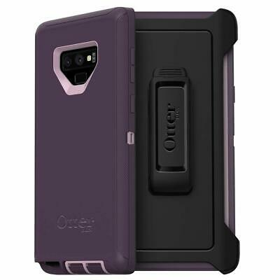 OtterBox DEFENDER SERIES Case & Holster for Galaxy Note9 (ONLY) - Purple Nebula