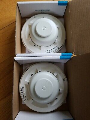 NEW Lot of 2 System Sensor 5604 Heat Detector 194°F Fixed