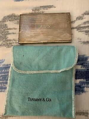 Authentic Tiffany & Co Business card Holder 925 Sterling Card Case