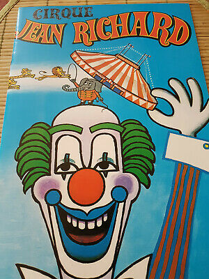 Cirque  Jean  Richard  - Saison 1984 - Direction Carrington - Programme -
