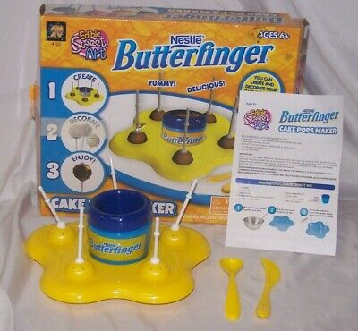 Kids CAKE POPS MAKER for Microwave by Nestle Butterfinger / VGC & Complete