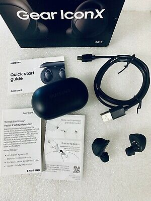 Samsung Gear IconX (2018 Edition) Bluetooth Cord-free Fitness Earbuds-Black