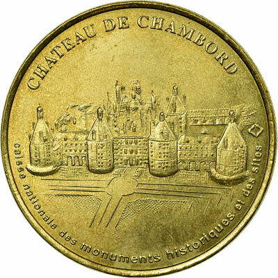 [#689013] France, Jeton, Tourist Token, Chambord - Chateau, Arts & Culture