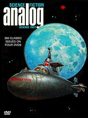 ANALOG SCIENCE FICTION (1960-1989) 360 ISSUES on 4 DVDs