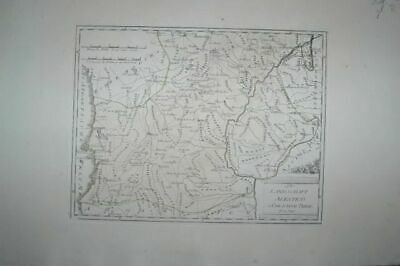 Die Landscape Alentejo Southern Theil. Map No. 529 from Atlas by Rei