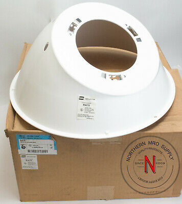 Cooper Crouse Hinds Ra70 Light Fixture Reflector, 30° Angle, Haz Locations