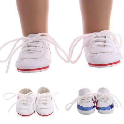 Fashion Mini Doll Shoes For 18 Inch Doll Accessories Doll Casual Sport Shoes