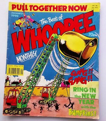 The Best of Whoopee Monthly January 1990 Collectable Childrens Kids Comic *