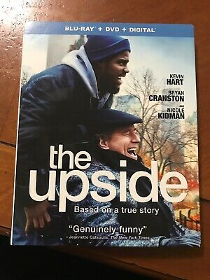 The Upside (Blu-ray + DVD + Digital; 2019) NEW with Slipcover