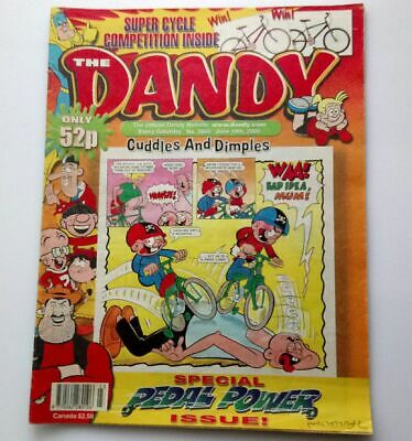 The Dandy 10th June 2000 Collectable Childrens Humour Comic Number 3055 *