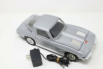 Silver Corvette VHS Tape Rewinder with Power adapter-Works great
