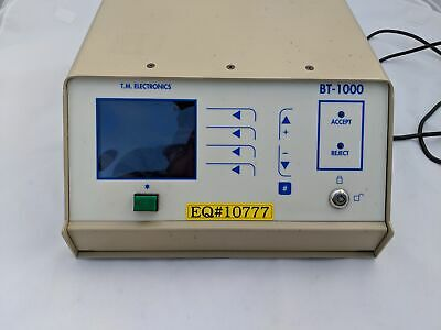 TM Electronics TME BT-1000 Automated Package Tester 60 Day Warranty