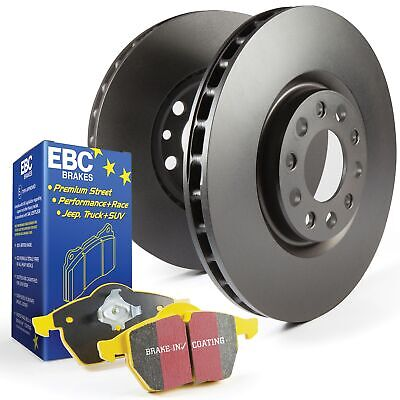 EBC Rear OE/OEM Replacement Brake Discs and Yellowstuff Pads Kit - PD03KR221