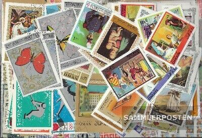 Oman 100 different stamps