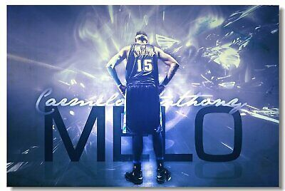 Poster Carmelo Anthony Melo Basketball Star Room Club Art Wall Print 511