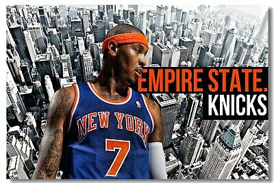Carmelo Anthony Melo Basketball Star Room Club Art Wall Poster Print 502