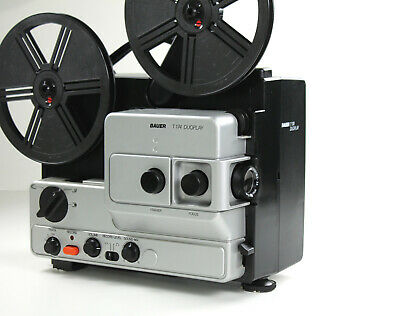 Super 8mm Sound Film Projector Bauer T 174 Duoplay