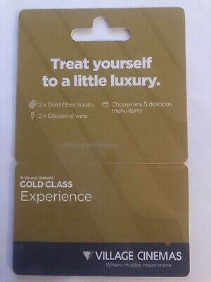 Village Gold Class Experience Gift Card