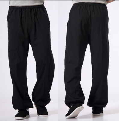 New China Kung Fu Martial Arts Shaolin Cotton Casual Long Pants Combat Trousers