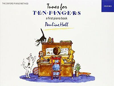 Tunes for Ten Fingers (Piano Time) by Pauline Hall New Paperback Book