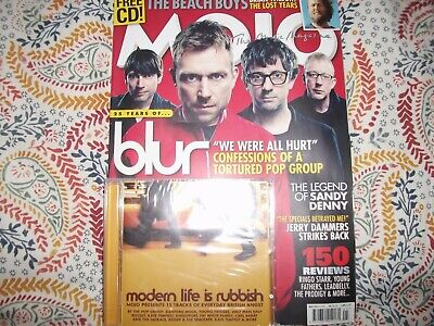 MOJO Magazine + CD May 2015 Blur Beach Boys Sandy Denny Jerry Dammers NEW
