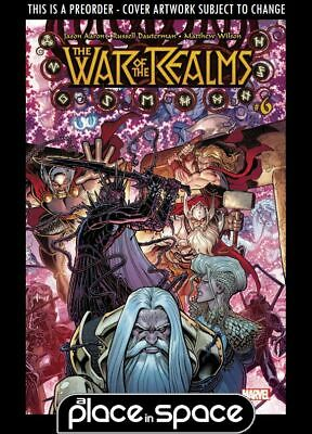 (Wk26) War Of The Realms #6A - Preorder 26Th June