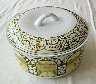 WEDGWOOD Home Oven To Tableware TERRACE Pattern ROUND LIDDED 3Pt. CASSEROLE DISH