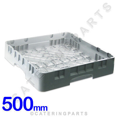 CAMBRO 500mm x 500mm x 100mm HIGH QUALITY -DISH-WASHER RACK FOR GLASSES GREY