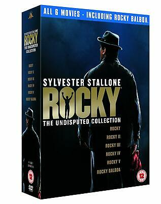 Rocky: The Undisputed Collection  with  Sylvester Stallone New (DVD  2007)