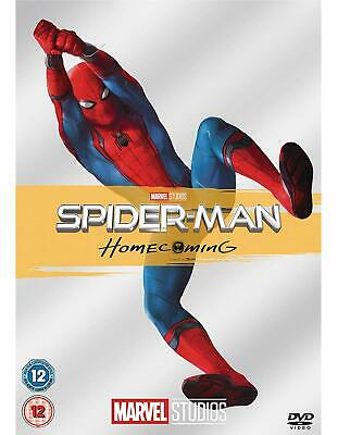 Spider-Man Homecoming  with  Tom Holland New (DVD  2017)
