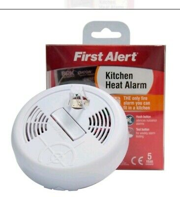 FIRST ALERT SMOKE Detector Fire Alarm Twin Pack with Hush