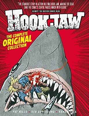 Hook Jaw: Archive by Pat Mils New Hardback Book