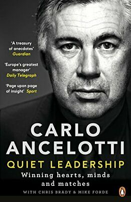 Quiet Leadership by Carlo Ancelotti New Paperback Book