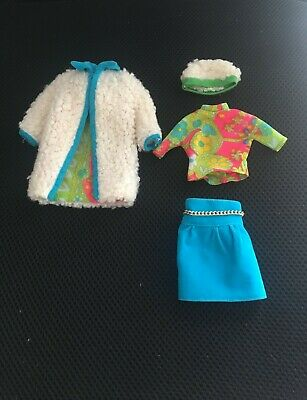 Vintage Francie Doll #1234 THE COMBINATION Outfit 1969-1970 Mattel