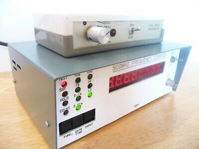 Frequency Counter 500 MHZ  G30PJ & Xtal Freq Reference