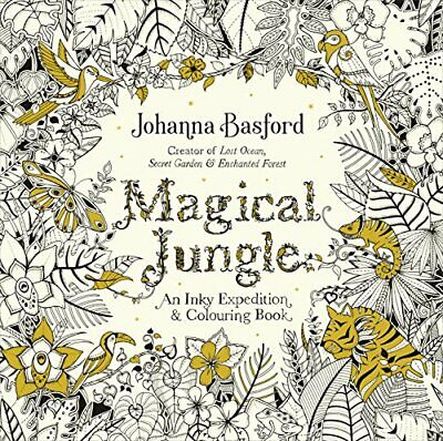 Magical Jungle by Johanna Basford New Paperback Book