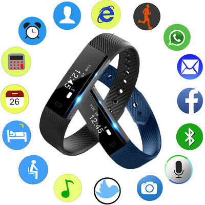 Fitness Smart Watch Band Sport Activity Tracker For Kids Girl Android iOS iphone