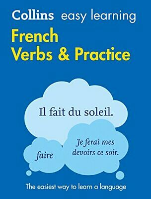 Easy Learning French Verbs and Practi by Collins Dictionaries New Paperback Book
