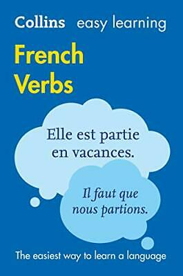 Easy Learning French Verbs by Collins Dictionaries New Paperback Book