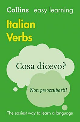 Easy Learning Italian Verbs by Collins Dictionaries New Paperback Book