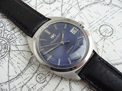 1971 IWC Electronic c.150 Tuning Fork Watch (F300, ESA 9162) – Fully Serviced