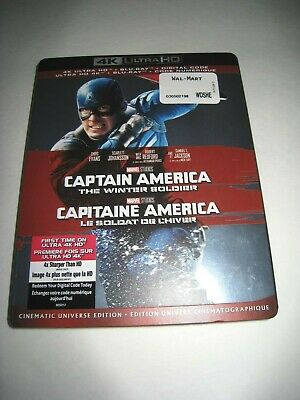 Captain America The Winter Soldier(4K Ultra slip cover only)No Disc No Blu Ray