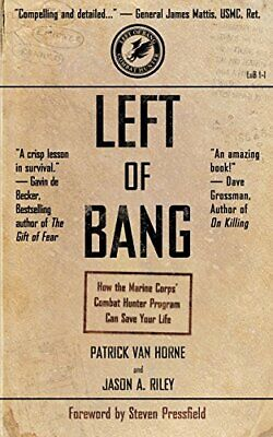 Left of Bang by Steven Pressfield New Paperback Book