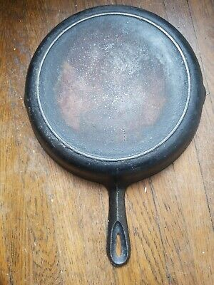 BSR Century Series Antique Vintage No. 8 Cast Iron Frying Pan Skillet Fire Ring