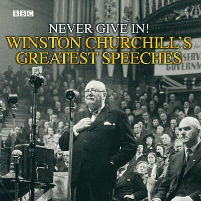 Winston Churchill's Greatest Speeches by Winston Churchill New CD-Audio Book