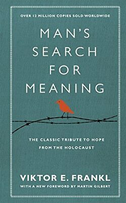 Man's Search For Meaning by Viktor E. Frankl New Hardback Book