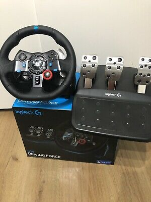 LOGITECH Driving Force G29 PlayStation 4 & PC Racing Wheel & Pedals Boxed