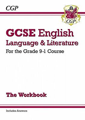 GCSE English Language and Literature Workbook -  by CGP Books New Paperback Book