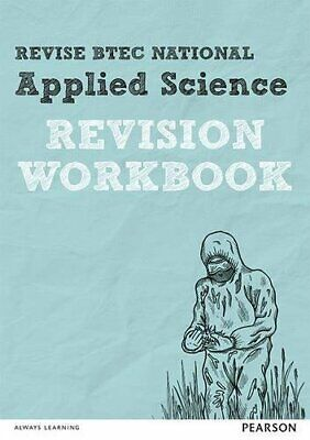 BTEC National Applied Science Revision Workbook New Paperback Book