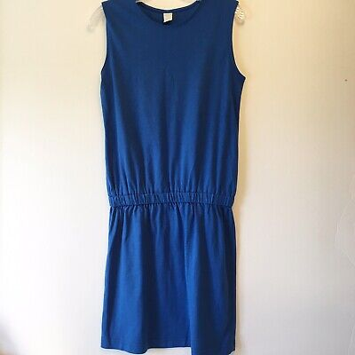 2601fd9aee LANDS' END WOMENS Plus 1X Cotton embellished Tunic Dress Coverup ...